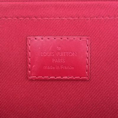 monogram canvas clutch bag